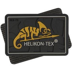 Helikon patch con Logo in nero