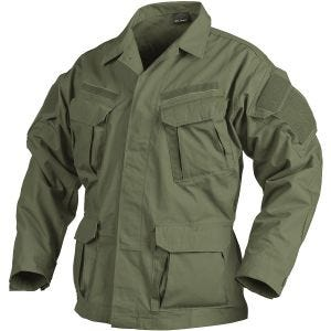 Helikon camicia SFU NEXT in policotone ripstop in Olive Green