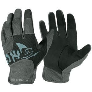 Helikon guanti tattici leggeri All Round Fit in nero / Shadow Grey