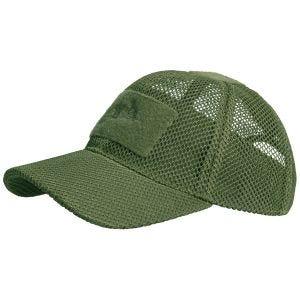Helikon berretto da baseball a rete in Olive Green