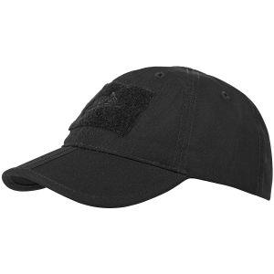 Helikon berretto da baseball ripiegabile in nero