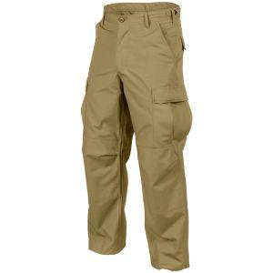 Helikon pantaloni Genuine BDU in policotone ripstop in Coyote