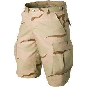 Helikon pantaloni corti Genuine BDU in cotone ripstop in Desert a 3 colori