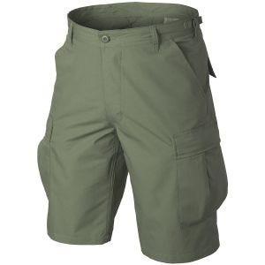 Helikon pantaloni corti Genuine BDU in cotone in verde oliva