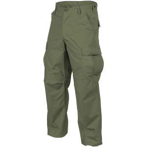 Helikon pantaloni BDU in cotone ripstop in Olive Green