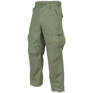 Helikon pantaloni Genuine BDU in saia di policotone in Olive Green
