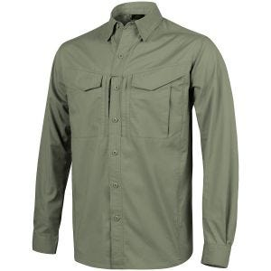 Helikon camicia a manica lunga Defender Mk2 in Olive Green