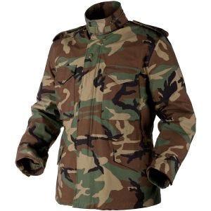 Brandit giacca Genuine M65 in Woodland