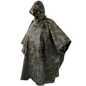 Helikon poncho impermeabile in Ripstop in Woodland polacco