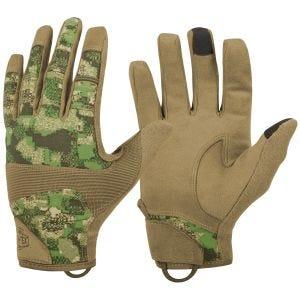 Helikon guanti tattici Hard Range in PenCott WildWood / Coyote