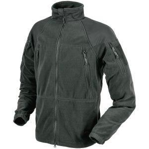 Helikon giacca in pile pesante Stratus in Shadow Grey