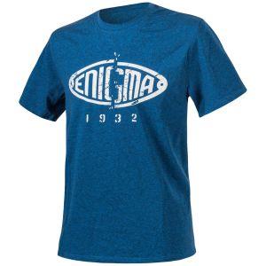 Helikon T-Shirt Enigma in mélange blu