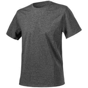 Helikon T-shirt in mélange nero-grigio