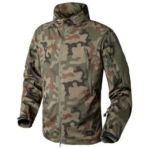 Helikon giacca softshell Trooper in Woodland Polacco