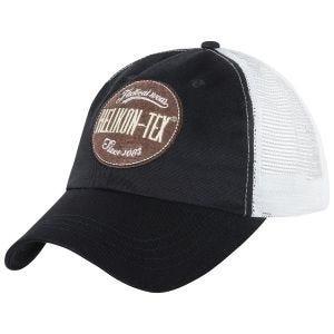 Helikon cappello Trucker con logo in nero