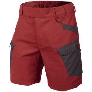 "Helikon shorts tattici 8.5"" in Crimson Sky / Ash Grey"