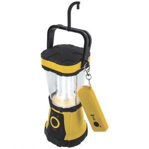 Highlander lanterna 24 LED con telecomando in giallo/nero