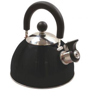 Highlander bollitore deluxe in acciaio inox con funzione fischio in nero