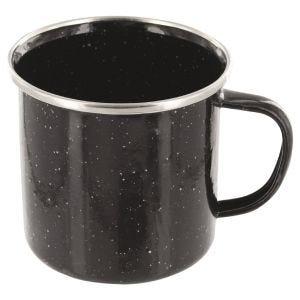 Highlander tazza deluxe smaltata in nero