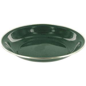 Highlander piatto da zuppa deluxe smaltato in verde