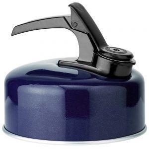 Highlander bollitore deluxe in acciaio inox con funzione fischio large in Dark Navy Blue