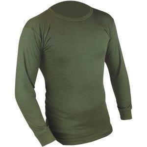 Highlander maglia termica a maniche lunghe in verde oliva