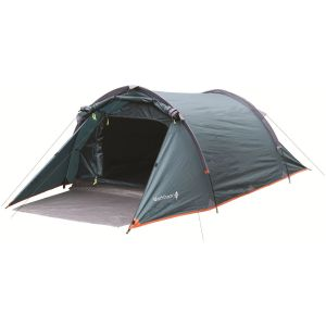 Highlander tenda Blackthorn 2 in verde Hunter/orlo arancione