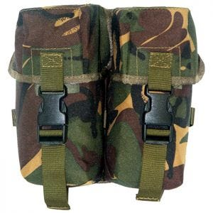 Pro-Force astuccio doppio per munizioni in PLCE DPM