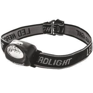 Highlander torcia da testa Fornax 5 LED in nero