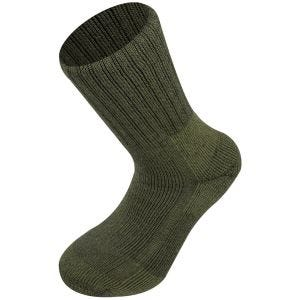 Highlander calzini esercito norvegese in verde oliva
