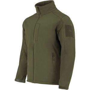 Highlander giacca softshell Odin in verde oliva