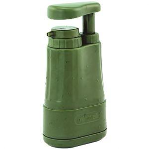 Highlander purificatore acqua Miniwell per attività Outdoor in verde oliva