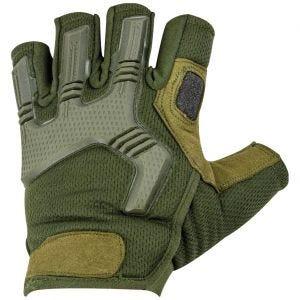 Highlander guanti senza dita Raptor in Olive Green