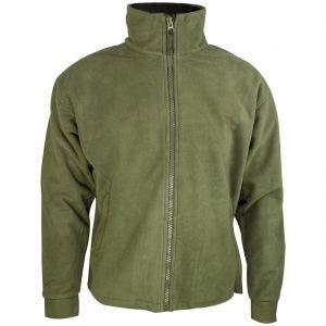 Highlander giacca Thor in pile in verde oliva