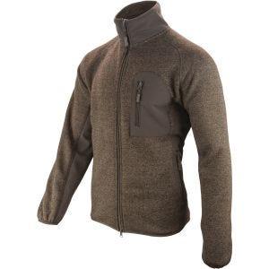 Jack Pyke giacca in maglia Weardale in marrone