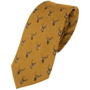 Jack Pyke Silk Tie Stag Mustard