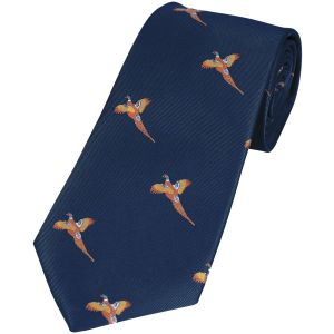 Jack Pyke cravatta fantasia fagiano in Navy