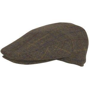Jack Pyke basco in misto lana in Brown Check