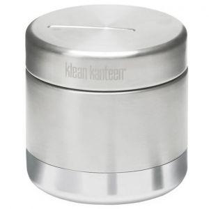 Klean Kanteen contenitore per alimenti termico 237ml in acciaio inox spazzolato