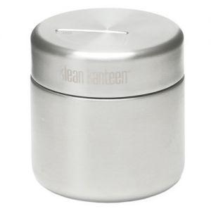 Klean Kanteen contenitore per alimenti 237ml in acciaio inox spazzolato