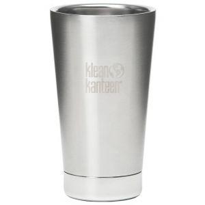 Klean Kanteen bicchiere termico 473ml in acciaio inox spazzolato