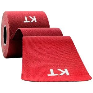 KT nastro in cotone originale Consumer pre-tagliato 25 cm in rosso