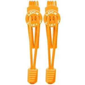 Lock Laces stringhe elastiche per scarpe in arancione