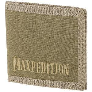 Maxpedition portafoglio apertura a libro in Tan