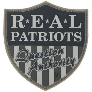 Maxpedition patch Real Patriots in SWAT