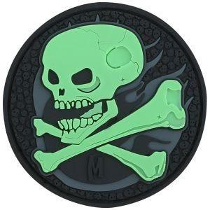 Maxpedition patch Skull fosforescente