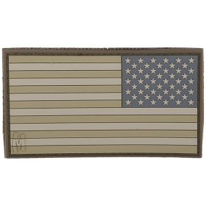Maxpedition patch Reverse USA Flag Large in Arid