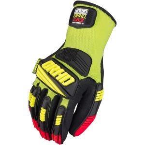 Mechanix Wear The Safety M-Pact ORHD Knit CR3 Gloves Hi-Viz Yellow