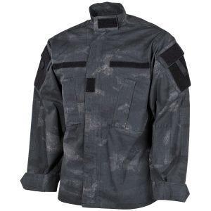 MFH giacca da campo ACU in Ripstop HDT Camo LE