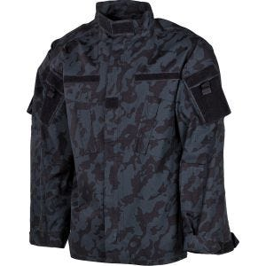 MFH giacca da campo ACU in Ripstop Night Camo